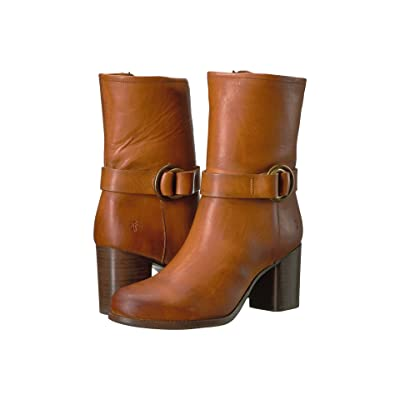 Frye Addie Harness Mid (Brown) Women