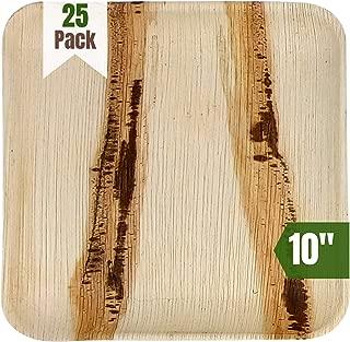 Best palm leaf paper plates Reviews