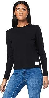 CALVIN KLEIN Jeans Women's Straight Fit Long Sleeve