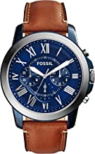 Fossil Grant Chronograph Blue Dial Men's Watch - FS5151