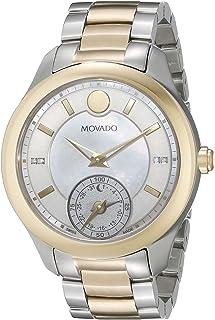 Women's 0660005 Analog Display Swiss Quartz Two Tone Smartwatch
