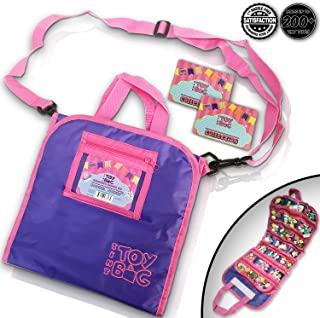 Black & White Label Company Holds 200 - Tiny Bag Shopkins Storage Carrier Organizer Container -...