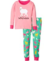 Hatley Kids Falling to Sheep Pajama Set (Toddler/Little Kids/Big Kids)