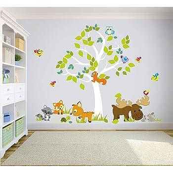 Kindermobel Wohnen Wandtattoo Sticker Aufkleber Spielzimmer Bar Eule Affe Kinderzimmer Tiere 146 Mobel Wohnen Blog Vr Com Br