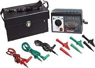 Megger 212159 Analog Hand-Crank Insulation Tester, 2,000 Megaohms Resistance, 100, 250, 500, 1000 V Test Voltage