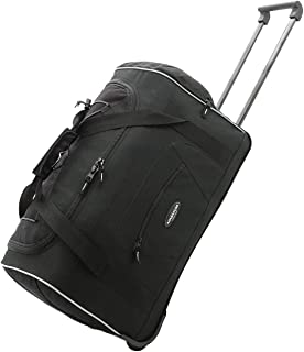 """Travelers Club 22"""" ADVENTURE Travel Rolling Carry-On Duffle"""