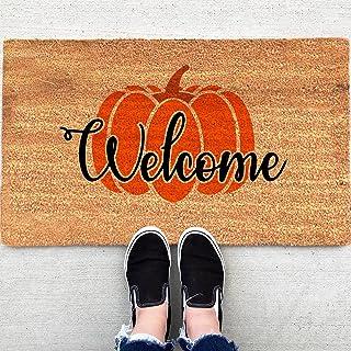 Halloween Doormat Blanket Stain Resistant Pile Fluffy Carpet Washable Floor Rug Welcome Home Front Door Doormat Rug Decora...