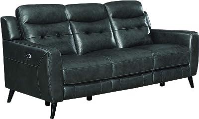 Amazon.com: 2619 piel w/colección de sofá de sillones ...