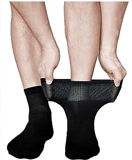 Calcetines Muy Expansibles Diabéticos Hombre (3 PARES) Acolchados para Pies Cansados
