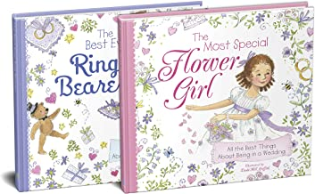The Flower Girl and Ring Bearer 2-Book Wedding Gift Set: The Perfect Picture Books for the Littlest Members of Your Weddin...