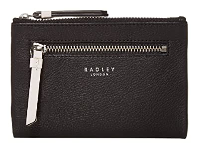 Radley London London Pockets Medium Bifold Purse (Black) Wallet Handbags