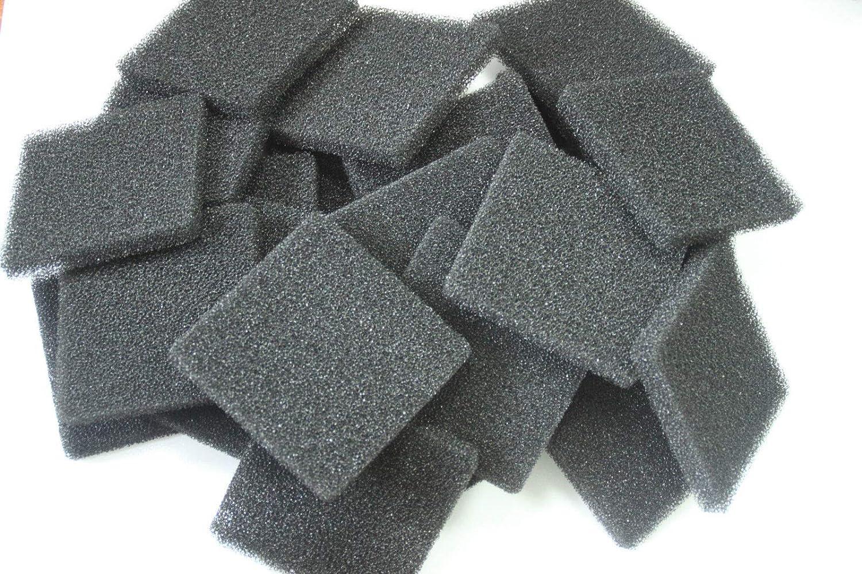 FidgetGear Compatible Filtration Foam Fit Rena Filstar xP Filter Media 723A 20PPI 50 PCS