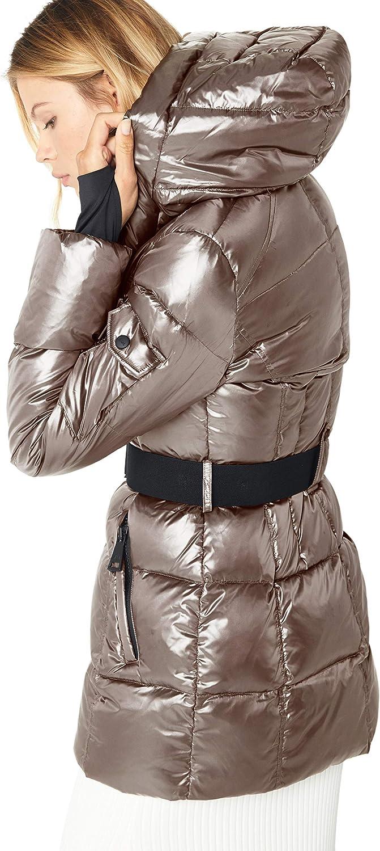 SAM womens Soho Belted Down Puffer Jacket