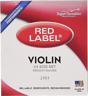 Super Sensitive Violin Strings (2103)