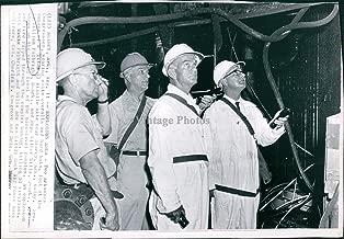 1965 Wire Photo Business William Fulbright Wilbur Mills Searcy Arkansas Work 6X8