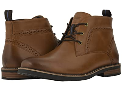 Nunn Bush Ozark Plain Toe Chukka Boot with KORE Walking Comfort Technology (Tan CH) Men