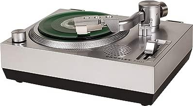 Crosley RSD3 Mini Turntable for 3-inch Vinyl Records, Silver