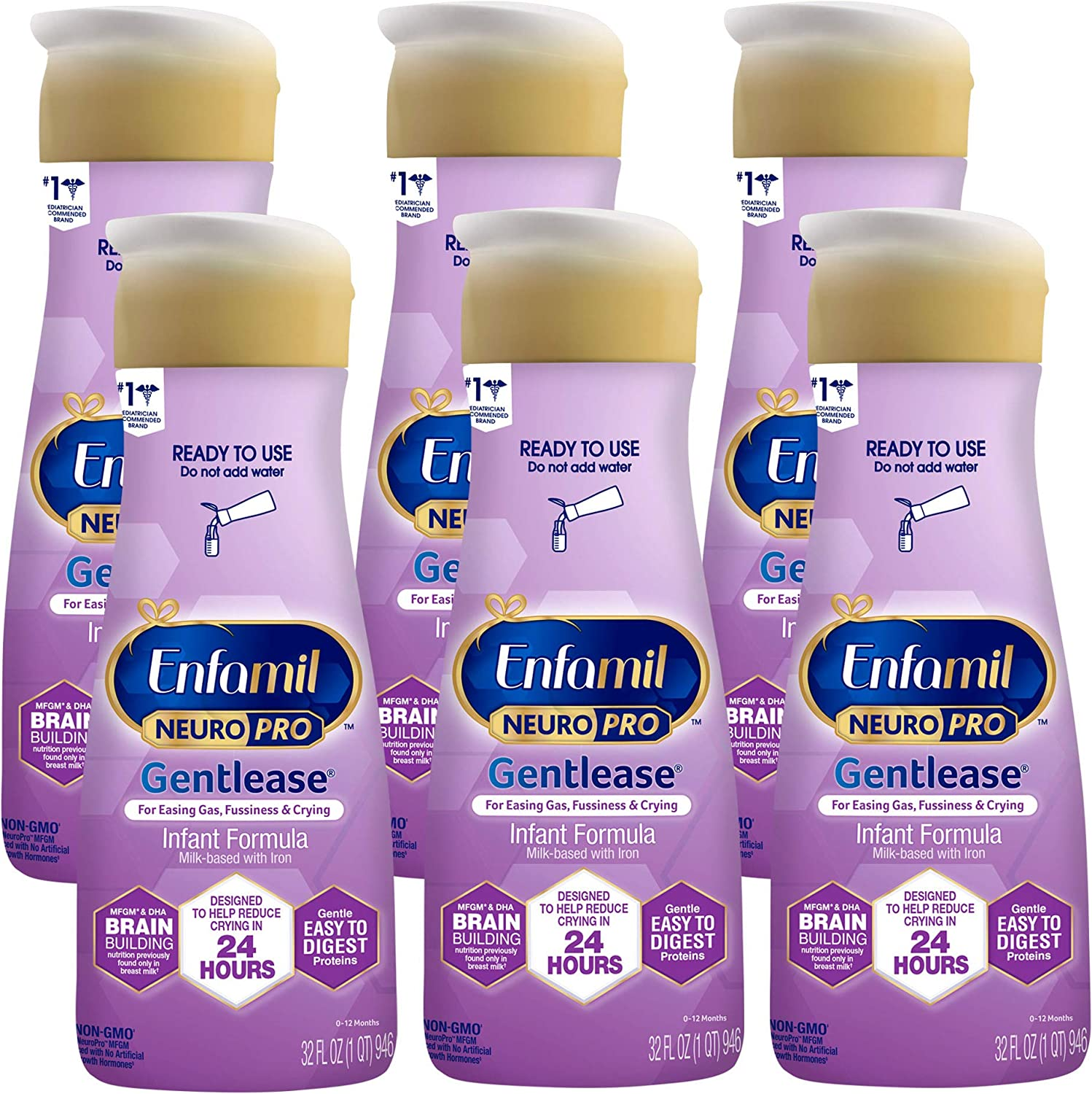 Enfamil NeuroPro Gentlease Baby Formula Outlet Sale SALE% OFF ☆ Free Shipping and Brain Suppor Immune