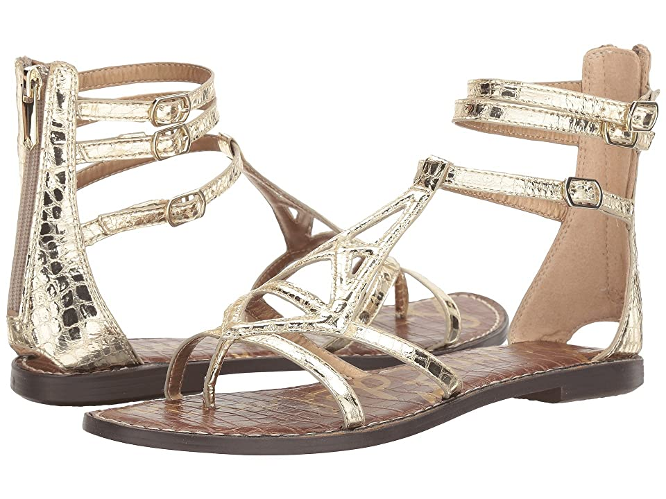 477ce9198167f Sam Edelman Goldie (Jute Mini Croco Metallic) Women s Shoes