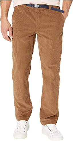 Saddle Brown Stretch Corduroy