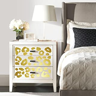 RoomMates Leopard Spot Peel And Stick Wall Decals With Foil