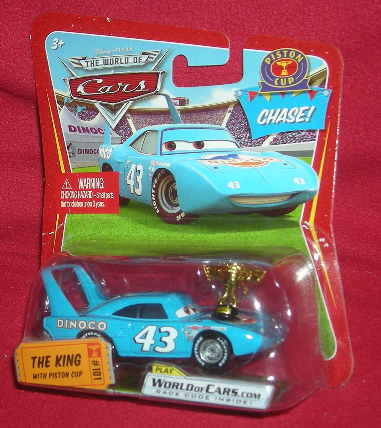 Disney Pixar CARS All stores are sold Movie 1:55 Die Cast Very popular Series wi The King Car 1