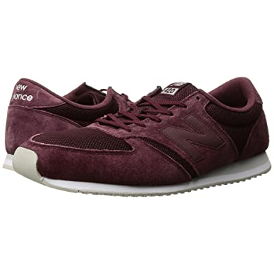 New Balance Classics U420v1 (Burgundy/Burgundy) Running Shoes