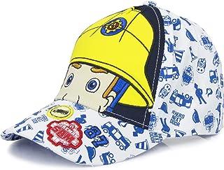 Fireman Sam Childrens/Kids Eyes And Helmet Baseball Cap (UK Size: 52cm) (White)