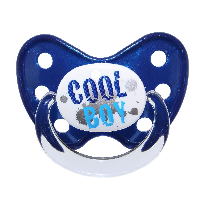 0-6 Monate Nuckel Silikon in Gr/ö/ße 1 von Geburt an Beruhigungssauger f/ür Babys Blau Cool Boy Dentistar/® Schnuller 3er Set zahnfreundlich /& kiefergerecht