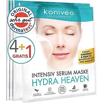 Mascarillas faciales KONIVÉO Premium. Máscara de tejido con sello ...