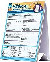 Medical Terminology & Abbreviations (Quick Study Easel)