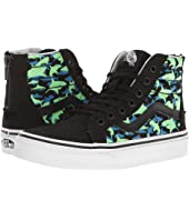 Vans Kids - Sk8-Hi Zip Glow (Little Kid/Big Kid)