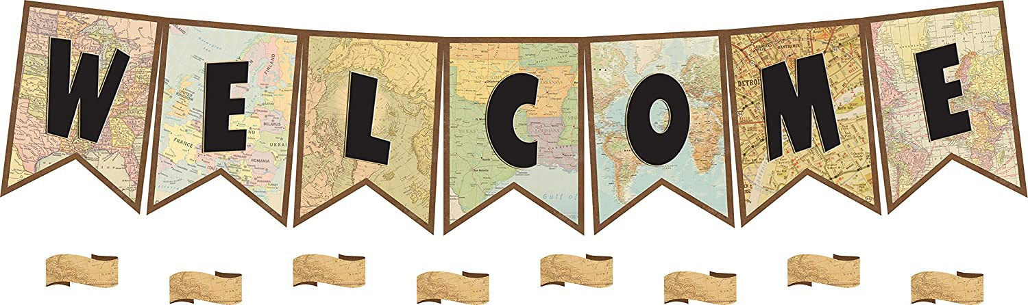 Teacher Created Resources Travel The Pennants Save money Welcome Bullet Map Ranking TOP6