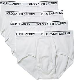 Polo Ralph Lauren - 4-Pack Mid-Rise Briefs