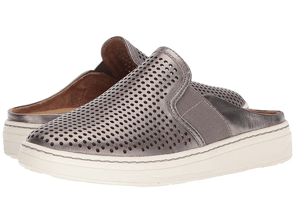 Earth Zest (Silver Metallic Tumbled Leather) Women
