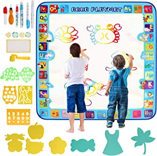 Innoo Tech 100 x 100 CM, Magic Mat - Kids العاب Water Drawing Mat Painting Writing Doodle Board Toy - Color Doodle Drawing...