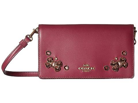 Burnt red large top zip satchel leather bag michael kors tote