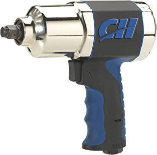 "Campbell Hausfeld 1/2"" Impact Wrench, Air Impact Driver (TL140200AV), 550 FT/LBS Torque"