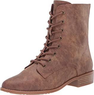 BC Footwear Women's Girl Power Ankle Boot, Tan, 6.5 B US
