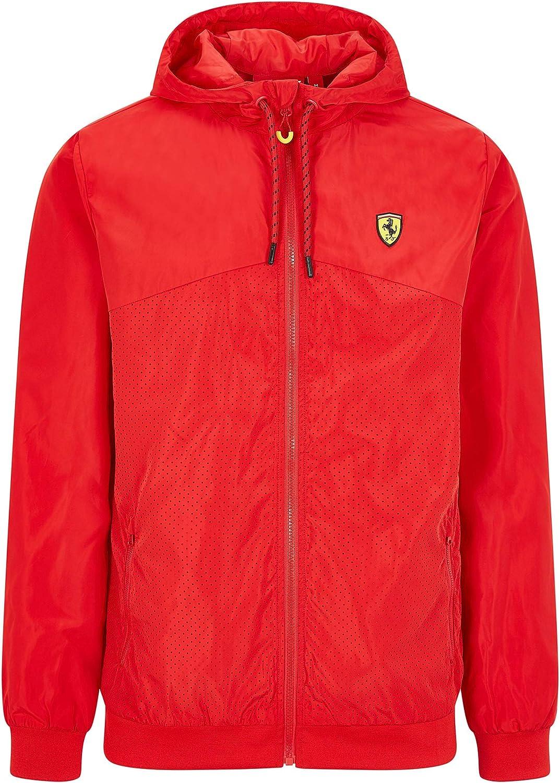 2020 Scuderia Ferrari F1 Herren Jacke Hoodie Gilet Softshell Offizielle Fanwear