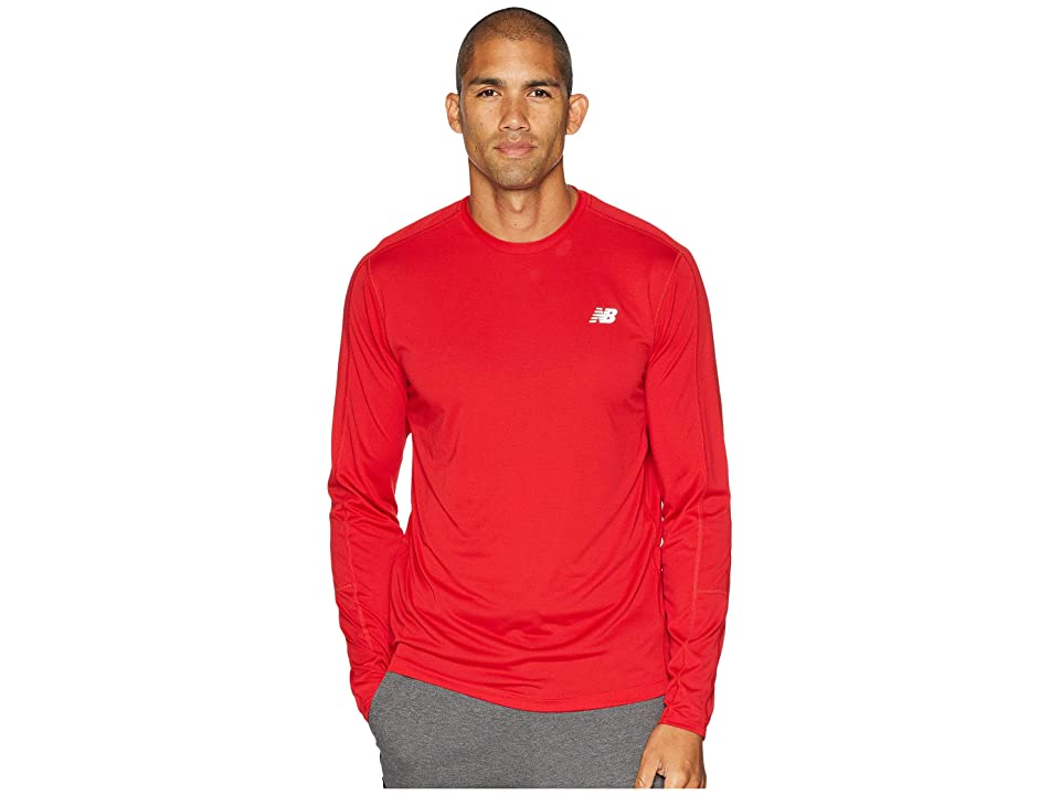 New Balance Accelerate Long Sleeve (Team Red) Men