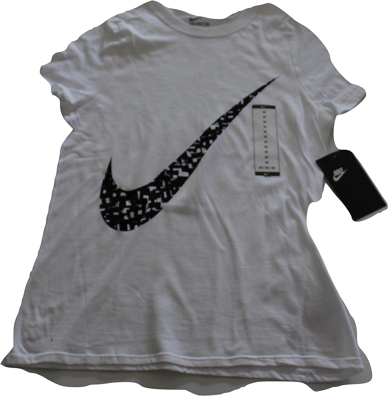 Nike Girl's Max Superior 66% OFF Swoosh Crewneck Tee Graphic