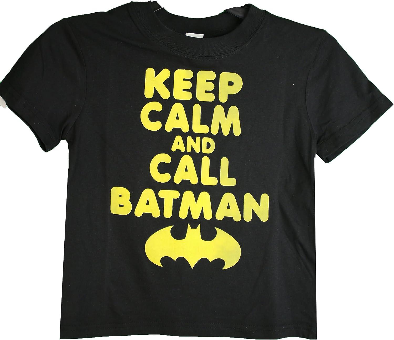 DC Batman Tee Shirt Keep Calm and Call Batman Medium 8 Blue