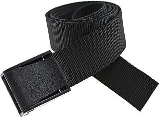 Thomas Bates Titan Strong 5 Year Guarantee Outdoor Nylon Canvas Belt Metal Free Made in the USA