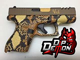 Gold And Black Diamond Back Snake Skin Hydrographic Water Transfer Film Hydro Dipping Dip Demon