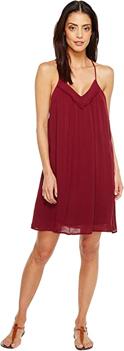 Brigitte Bailey - Ila Spaghetti Strap Dress with Crochet Detail