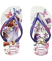Havaianas Kids Slim Princess Sofia Flip Flops (Toddler/Little Kid/Big Kid)