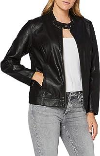 ONLY Carmakoma Carrobber Faux Leather Jacket Noos Chaqueta de cuero para Mujer
