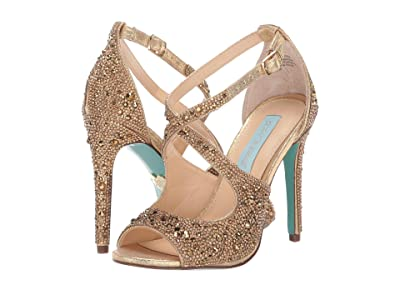 Blue by Betsey Johnson Sage (Gold) High Heels