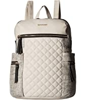 Rampage - Mixed Media Quilted Backpack